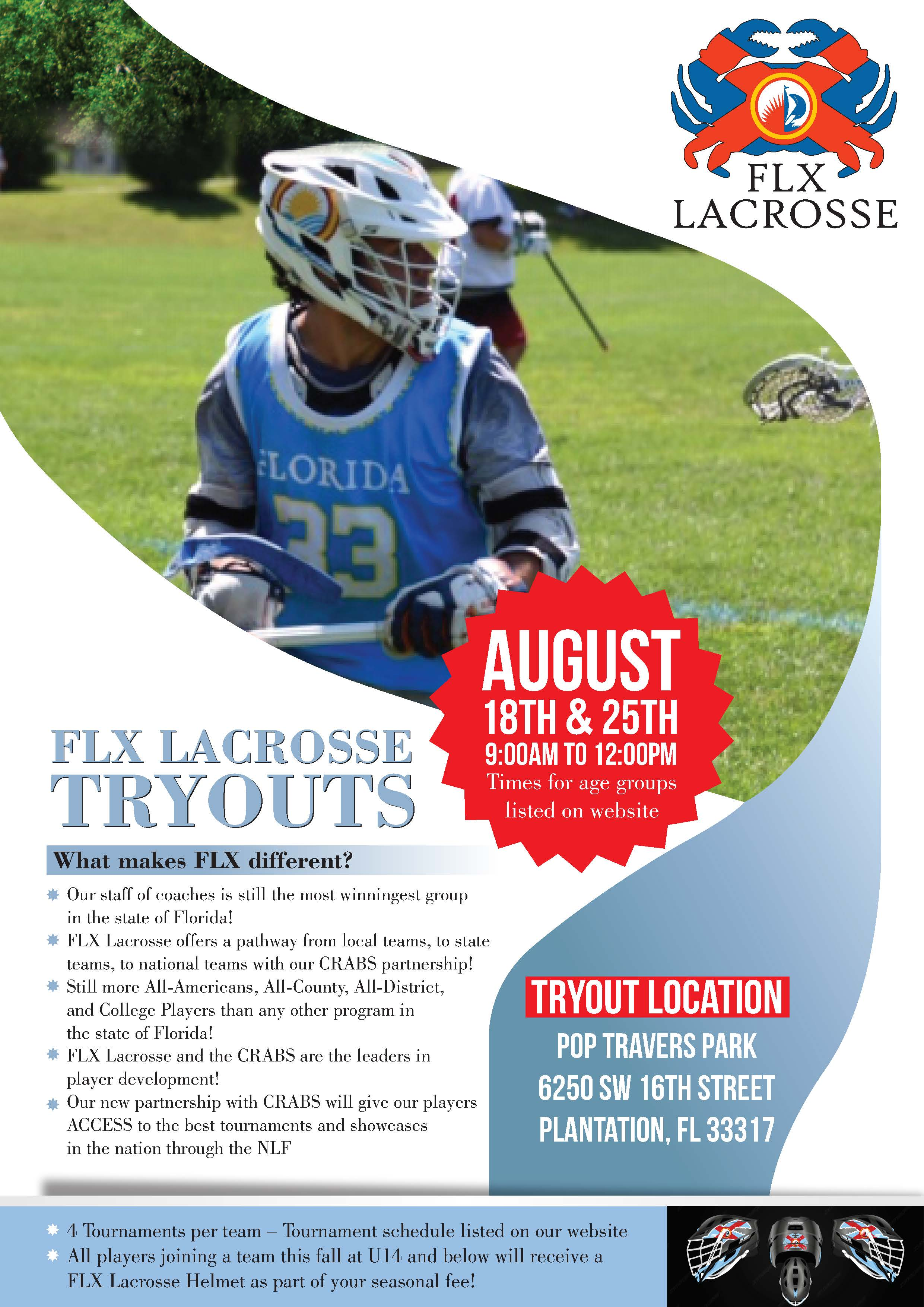 FLX Crabs Tryout 2019 - 1